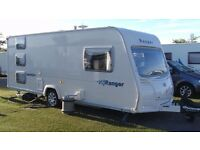 2008 6 Berth Bailey Ranger 5 540/6 caravan