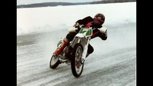 Dirt bike winter riding