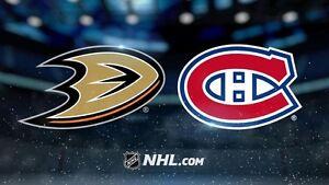 Canadiens reçoit les Ducks de Anaheim Saint-Hyacinthe Québec image 1