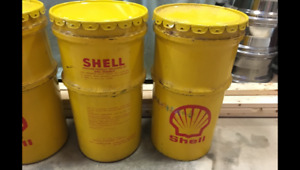 Shell Oil Drums, Quaker State