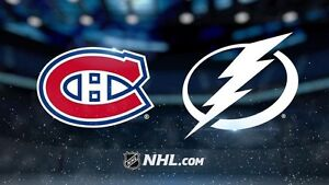 Canadiens vs Lightning - Last Home Game!