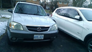 2004 Mazda Tribute 6 cylender,SUV,daily use,ready for test drive