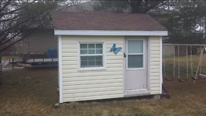 8x8 or larger baby barn/shed
