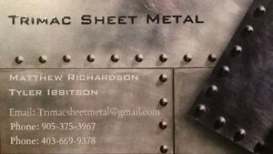 Trimac Sheet Metal  Peterborough Peterborough Area image 1