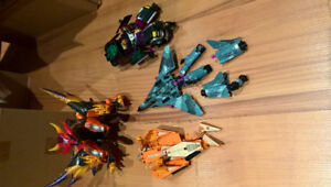 Loose Transformers action figure lot.