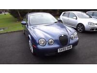 Jaguar S-TYPE Blue 2005 2.5 V6 Petrol Auto Sport, Glasgow, Scotland