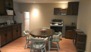 Furnished One Bedroom Basement Apartment for Single Female
