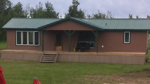 1200sq fully finished cabin/house
