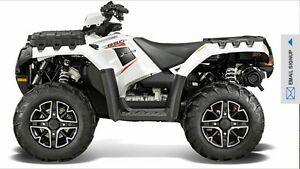 2014 Polaris Sportsman 850 HO EPS SE  Willing to trade 10500 obo
