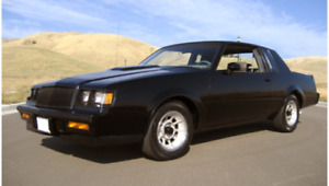 Wanted 1987 buick grand national