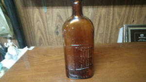 Vintage bottle kidney and liver cure