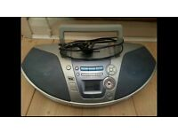 Panasonic CD/Radio/Cassette Player with Remote Control