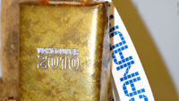 2010 VANCOUVER OLYMPIC 4 INCH COWBELL. . .NEW WITH TAG