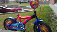 "Collectible Spiderman Special Edition Bicycle - 16"" Bike"