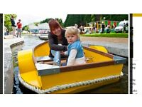 Thanet craft aluminium paddle boat