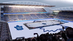 Maple Leafs Outdoor Game @ BMO field (Centennial Classic)