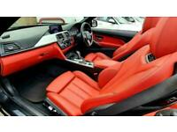 2017 BMW 4 Series 2.0 420d M Sport Auto 2dr Convertible Diesel Automatic