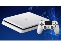 White PS4 bundle for sale as new