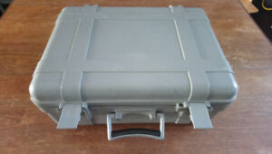 "Waterproof case by Underwater Kinetics. 18""x 14""x 7"""