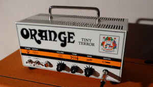 Orange Tiny Terror Amp and Cabinet
