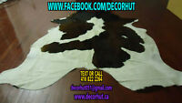 Unique and Natural Skin Area Rug Cowhide Rug