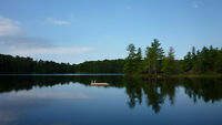 1150 Acres Private Lake Waterfront, 12 km from Huntsville Proper