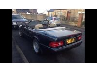 1997 MERCEDES BENZ SL 280 SPORTS CONVERTIBLE LOW MILEAGE FMBSH EXCELLENT CONDITION PX