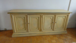 Quality Stanley Dresser, Night Table & King Headboard - FREE