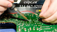 Electronic repair montreal   SMD soldering chip level   Pro tech