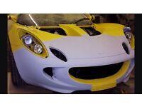 Car plastic/fibreglass repairs