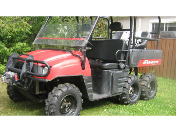 Used 2007 Polaris ranger 700 6x6