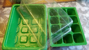 Non-toxic, high quality plastic germination set