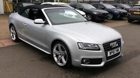 2011 Audi A5 2.0 TDI S Line 2dr (Start Stop Manual Diesel Convertible