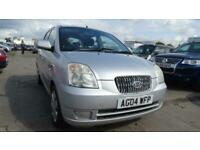 2004 04 KIA PICANTO 1.1 LX 5D 65 BHP LOW INSURANCE AND TAX