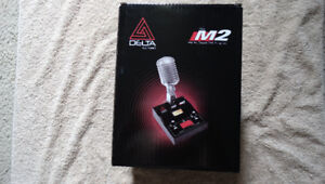 Delta Electronics M2 Amplified Dynamic CB  Desk Microphone