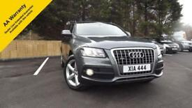 Audi Q5 2.0Diesel Manual 4x4 estate 62k Mls Quattro 2010 S Line Glasgow Scotland