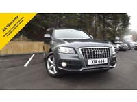 Audi Q5 2.0Diesel Manual 4x4 estate 60k Mls Quattro 2010 S Line Glasgow Scotland