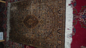 Hand Crafted Chinese Silk Rug