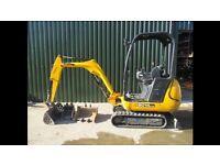 JCB 8014 Mini Digger for sale (2012) No Vat