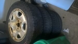 Tsx Winter rims on used tires