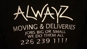 ALWAYZ MOVING & DELIVERIES London Ontario image 2