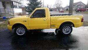 2002 FORD RANGER CUSTOM  WITH SAFETY