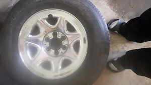 Tires and Rims 255 70 R17