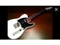 Squier Classic Vibe Telecaster, White Matching Headstock