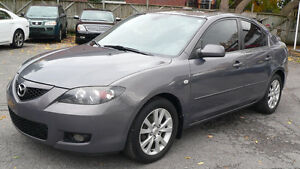 2007 Mazda3 5sp full option (sunroof)***EXCELLENT**LOW KM'S 132K