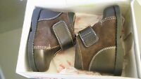 Baby Boys Brown Boots/Shoes-New