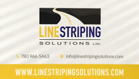 Parking Lot Sweeping and Cleaning ( Line Striping Solutions )
