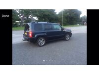 2008 57reg Jeep Patriot 2.0 Tdi 4x4 top Spec Leather Vw engine and running gear
