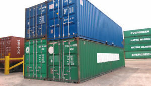 Used Sea Containers for Sale and Rent 20' / 40'