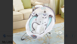 $50 Baby Bouncer Fisher Price My Little Lamb